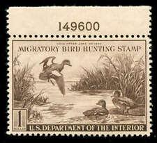 momen: US Stamps #RW9 Mint OG XF-SUP+