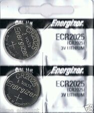 2 New ENERGIZER CR2025  Lithium 3v Coin Battery Australia Stock