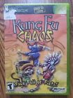 Kung Fu Chaos COMPLETE in BOX. Microsoft Xbox. Sold AS IS. RARE
