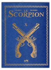 Tirage de Tête MARINI Le Scorpion 10 signé + ex-libris 500ex