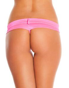 SALE! Exotic Dancer Stripper Sexy Lycra Thong Gstring Bikini Short Set Dancewear