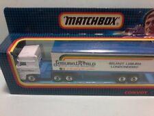 "MATCHBOX CONVOY CY25 DAF semi trailer box truck  "" LEISUREWORLD""  MINT BOXED"