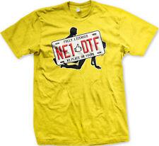 NE1 DTF Anyone Down To F*** Fully Licensed Plate Sex Joke Jersey Men's T-Shirt