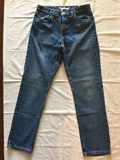 Tommy Hilfiger Classic Fit Blue Jeans Women's Size 8 Long