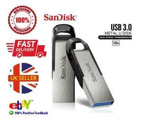SanDisk Ultra Flair USB 4 8 16 32 64 128GB 3.0 Flash Drive Memory Stick 150 MB/s