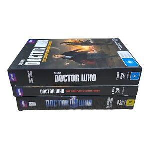 Doctor Who Complete Season 6 8 9 DVD Region 4 VGC Plus Free Postage