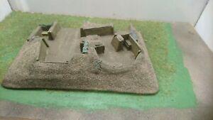 1/72 WW2 double bunker