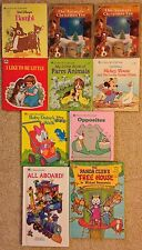Vintage Golden Tell A Tale, Board, Sturdy and Easy Reader Books, 10 Total
