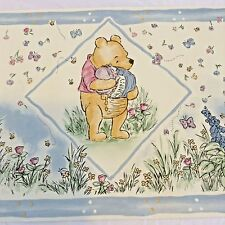 "Classic Winnie The Pooh Wallpaper Border DISNEY Honey Pot 10"" X 15' pre-pasted"
