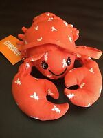 Gymboree NWT Cute On The Coast Lobster Purse Plush Bag 2 3 4 5 6 7 8 9 10 12 Nwt