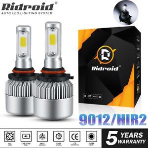 For Vaux Astra J GTC 9012 HIR2 LED Headlight Bulbs 180W 18000LM Xenon White Lamp