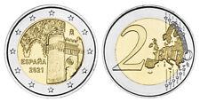 SPANIEN 2 EURO ALTSTADT VON TOLEDO 2021 bankfrisch