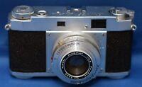 Ricoh 35 DeLuxe 35mm Film Camera Seikosha-MX 2.8 45mm Riken Ricomat Lens