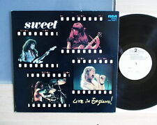 Sweet Live in England      LP  Sehr Gut