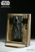 Sideshow Star Wars HAN SOLO in Carbonite 1/6 Scale Diorama Figure Statue MIB !!!