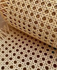 "Cane Webbing Caning Pre-woven rattan - (24"" Width) Natural (Sold PER METER)"