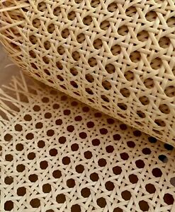 """Cane Webbing Caning Pre-woven rattan - (24"""" Width) Natural (Sold PER METER)"""