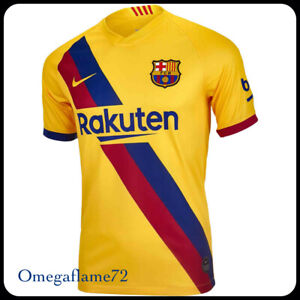 Nike FC Barcelona Stadium Away Football Soccer Shirt, Sz XL