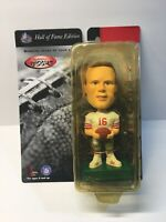Joe Montana 1999 San Francisco 49ers Bobblehead Bobbin Bobbers HOF Edition NIB