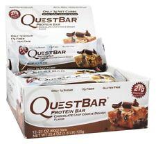 Quest Nutrition Protein Bar Chocolate Chip Cookie Dough - 12 Bars - 2.12 oz each