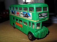 Very rare London Bus by Seerol Die Cast (H Seener Ltd) GREEN on Route 12 !!!