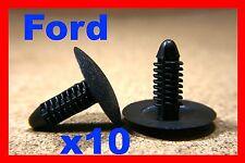 10 Ford Sombrero Capucha aislamiento Trim paneles Tarjeta Tornillo Sujetadores