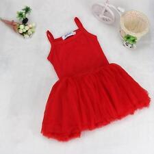 Baby Girls Princess Ballet Tutu Dress Kids Leotards Dancewear Costume Dresses 80