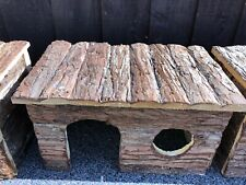 Pet Ting Natural Living Jerrik Log House 28 × 16 × 18cm Hamster Rat Guinea Pig