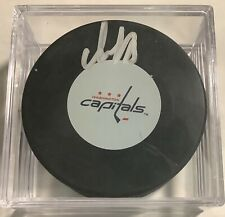 NHL Hockey ALEXANDER OVECHKIN Washington Capitals Puck Autograph Steiner