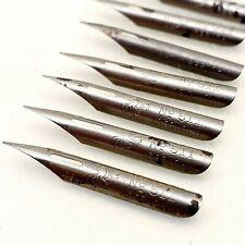 BRAUSE 511 calligraphy dip ink nib pen drawing NIBS lot Vintage ANTIQUE