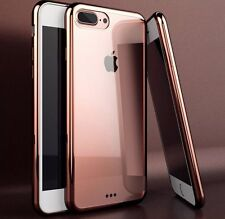 iPhone 7 PLUS Silicon Case Clear Back Rubber Bumper