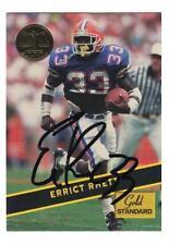 Errict Rhett Signed Autographed 1994 Signature Rookies Card Tampa Bay Buccaneers