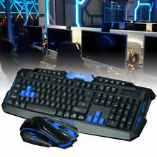 2.4g Gaming sans fil clavier et souris ensemble pour ordinateur multimédia Gamer