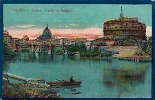ROMA - Castel S. Angelo - ANIMATA - COLORATA -1919 - Rif. 59 PI
