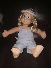 My Buddy Kid Sister Doll Playskool Hasbro 1986 Original Blonde Blue Eyes