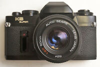 SEARS KS Super SLR camera with Auto Sears 2.0/50 lens TESTED WORKING