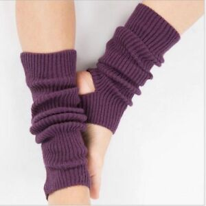 Leg Warmers Winter Knitted Boot Cuffs Women's Cotton Soft Stretchable Legs Wears