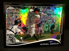 AVISAIL GARCIA 2014 Topps Chrome BLACK REFRACTOR Card #148 Ser #d /100 WHITE SOX