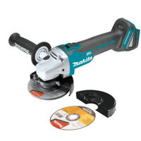 "New Makita XAG04 18V Cordless Brushless Battery Angle Grinder 4 1/2""  5"" Cut off"