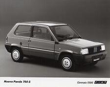 Mk1 Fiat Panda 750S Large Format Period Press Photograph - 1986