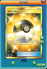 SR Ultra Ball SECRET RARE for Pokemon TCG Online (in Game PTCGO Card, digital)