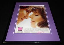 The Vow 2012 Channing Tatum Rachel McAdams Framed ORIGINAL Advertisement