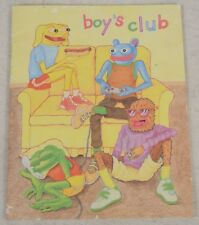 Boys Club GN 2006 VG Matt Furie 1st Print Pepe The Frog Meme