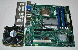 INTEL SERVER/DESKTOP BOARD DG35EC LGA775 INTEL E8400 CPU HEATSINK O/S SHIELD