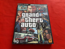 GTA GRAND THEFT AUTO 4 IV GUIDE OFFICIEL + CARTE PLAYSTATION 3 PS3 XBOX 360 VF