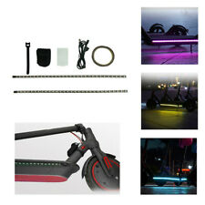 AU LED Light Strip Night Light Lamp For Xiaomi M365 Electric Scooter Accessories