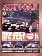 AUTOCAR MAGAZINE 09-APR-03 - Jaguar XJ8, Mercedes S430 W220, Mitsubishi Evo Vlll