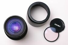 Sigma 70-300mm D f/4-5.6 APO Telephoto Lens Filter Caps & Hood For Nikon (#2151)