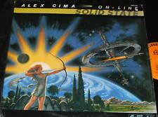 ALEX CIMA On-Line Solid State LP JAZZ FUNK EXCELLENT in SHRINK