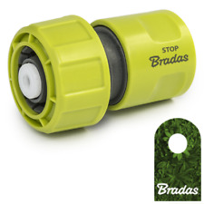 Bradas Schlauchkupplung 3/4' mit Stop Lime Line Schnellkupplung 3300